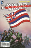 Cover for Justice League of America (DC, 2013 series) #1 [Hawaii Flag Cover]