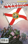 Cover for Justice League of America (DC, 2013 series) #1 [Florida Flag Cover]