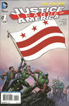 Cover for Justice League of America (DC, 2013 series) #1 [District of Columbia Flag Cover]