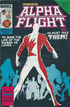 Cover for Alpha Flight (Federal, 1984 ? series) #6