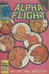 Cover for Alpha Flight (Federal, 1984 ? series) #7