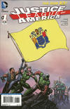 Cover for Justice League of America (DC, 2013 series) #1 [New Jersey Flag Cover]