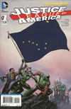 Cover for Justice League of America (DC, 2013 series) #1 [Alaska Flag Cover]