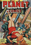 Cover for Planet Comics (Locker, 1951 series) #5