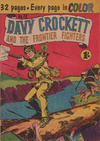Cover for Davy Crockett and the Frontier Fighters (K. G. Murray, 1955 series) #12