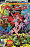 Cover for Red Sonja (Marvel, 1977 series) #1 [British Price Variant]