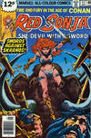 Cover for Red Sonja (Marvel, 1977 series) #13 [British price variant.]