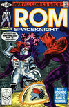 Cover for ROM (Marvel, 1979 series) #6 [Direct Edition]