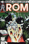 Cover for ROM (Marvel, 1979 series) #8 [Direct Edition]