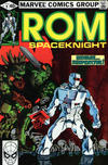 Cover for ROM (Marvel, 1979 series) #9 [Direct Edition]