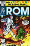 Cover for ROM (Marvel, 1979 series) #11 [Direct Edition]