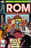 Cover for ROM (Marvel, 1979 series) #15 [Direct Edition]