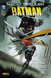 Cover Thumbnail for Batman Sonderband (Panini Deutschland, 2004 series) #40 - Die Nacht der Eulen