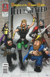 Cover Thumbnail for Knights of the Dinner Table Illustrated (Kenzer and Company, 2000 series) #33