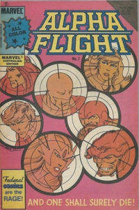 Cover Thumbnail for Alpha Flight (Federal, 1984 ? series) #7