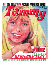 Cover Thumbnail for Tammy (IPC, 1971 series) #6 February 1971