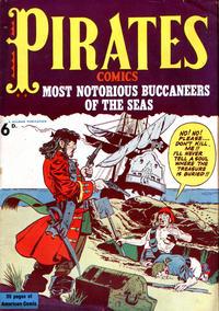 Cover Thumbnail for Pirates Comics (Streamline, 1950 series) #[nn]