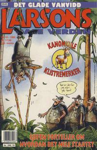 Cover Thumbnail for Larsons gale verden (Bladkompaniet, 1992 series) #10/1995