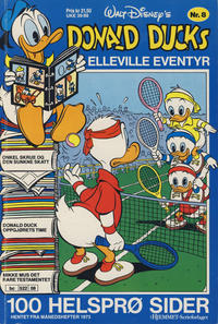 Cover Thumbnail for Donald Ducks Elleville Eventyr (Hjemmet / Egmont, 1986 series) #8