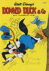 Cover Thumbnail for Donald Duck & Co (Hjemmet / Egmont, 1948 series) #42/1972