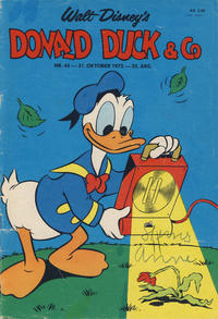 Cover Thumbnail for Donald Duck & Co (Hjemmet / Egmont, 1948 series) #45/1972