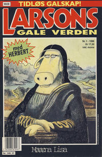 Cover Thumbnail for Larsons gale verden (Bladkompaniet, 1992 series) #1/1996