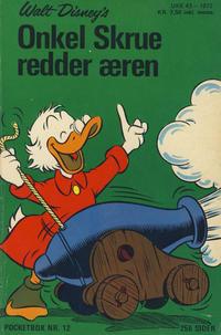 Cover Thumbnail for Donald Pocket (Hjemmet / Egmont, 1968 series) #12 - Onkel Skrue redder æren [1. opplag]