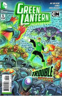 Cover Thumbnail for Green Lantern: The Animated Series (DC, 2012 series) #5