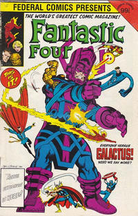 Cover Thumbnail for Fantastic Four (Federal, 1983 series) #2