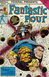 Cover Thumbnail for Fantastic Four (Federal, 1983 series) #5