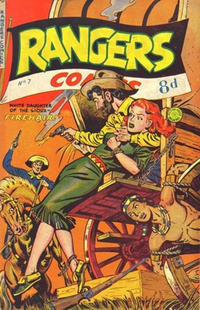 Cover Thumbnail for Rangers Comics (H. John Edwards, 1950 ? series) #7