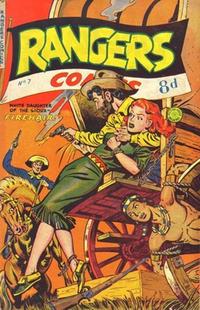 Cover for Rangers Comics (H. John Edwards, 1950 ? series) #7