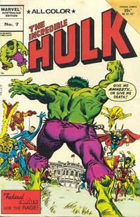 Cover Thumbnail for The Incredible Hulk (Federal, 1984 series) #7