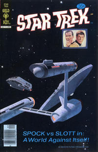 Cover Thumbnail for Star Trek (Western, 1967 series) #55 [Gold Key Edition]