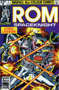 Cover Thumbnail for ROM (Marvel, 1979 series) #2 [British price variant]