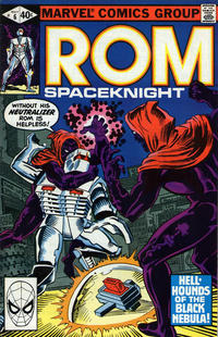 Cover Thumbnail for ROM (Marvel, 1979 series) #6 [Direct Edition]