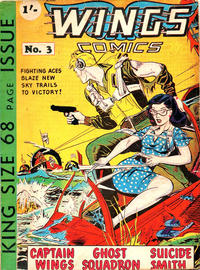 Cover Thumbnail for Wings Comics (Trent, 1960 ? series) #3