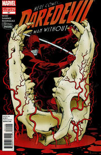 Cover Thumbnail for Daredevil (Marvel, 2011 series) #21 [Second Printing]