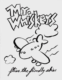 Cover Thumbnail for Mr. Whiskers Flies the Friendly Skies (Gypsygirl Press, 2003 ? series)
