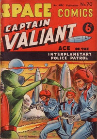 Cover Thumbnail for Space Comics (Arnold Book Company, 1953 series) #70