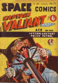 Cover Thumbnail for Space Comics (Arnold Book Company, 1953 series) #71