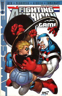 Cover Thumbnail for Fighting American: Rules of the Game (Awesome, 1997 series) #2 [Cover A]