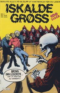 Cover Thumbnail for Iskalde Grøss (Semic, 1982 series) #3/1984