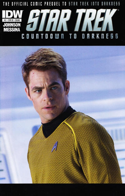 Cover for Star Trek Countdown to Darkness (IDW, 2013 series) #2 [Cover A]
