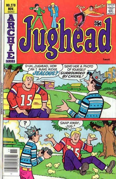 Cover for Jughead (Archie, 1965 series) #270