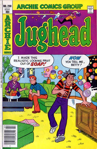 Cover for Jughead (Archie, 1965 series) #290