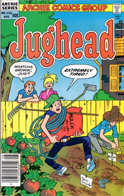 Cover for Jughead (Archie, 1965 series) #335