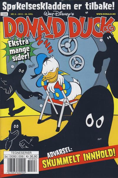 Cover for Donald Duck & Co (Hjemmet / Egmont, 1948 series) #6/2013