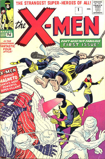 Cover for The X-Men (Marvel, 1963 series) #1
