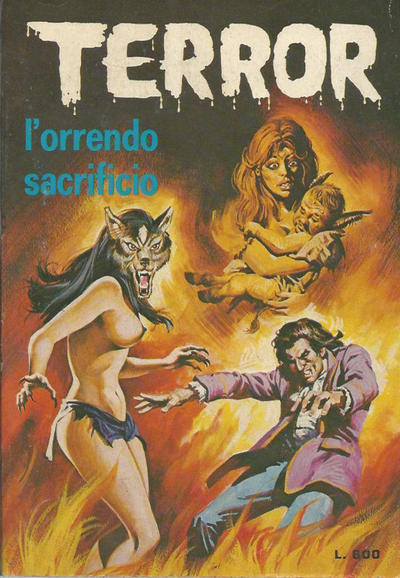 Cover for Terror (Ediperiodici, 1969 series) #85